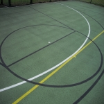 Multisport Synthetic MUGA Flooring in Ampney St Mary 6