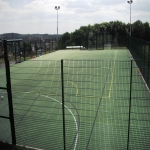 MUGA Court Painting in Abingworth 12