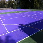 Multisport Synthetic MUGA Flooring in Acharn 7