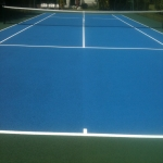MUGA Court Painting in Abercych 12