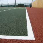 Sand Filled MUGA Pitch in Aby 8