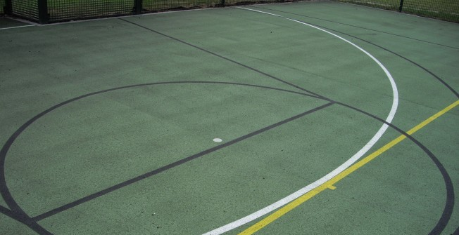 MUGA Court Dimensions in Midlothian