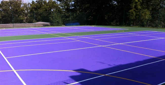 Macadam Sport Surfaces in Addlestone