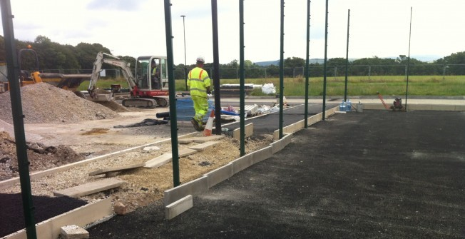 MUGA Facility Consultants in Abbeystead