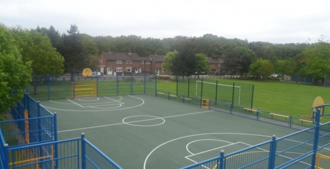 MUGA Surfacing Specifications in Belfast