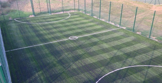 3G Pitch MUGA in Alderwasley
