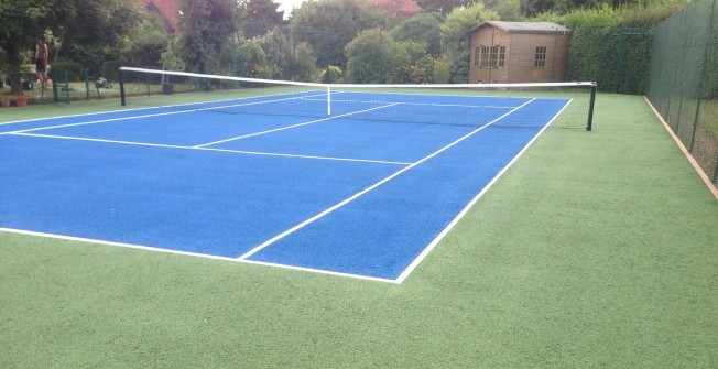 Repairing MUGA Surfaces in Ballymena