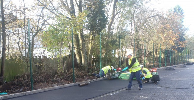 MUGA Court Resurfacing in Ampthill