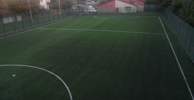 Artificial Grass Pitch Installers in Abercynon