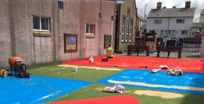 Artificial Sports Carpet in Amlwch