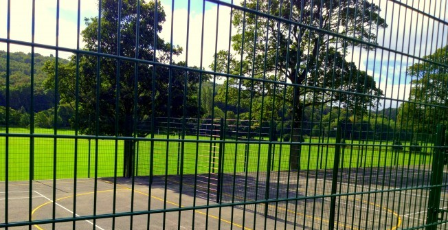 Secure MUGA Fence in North Ayrshire