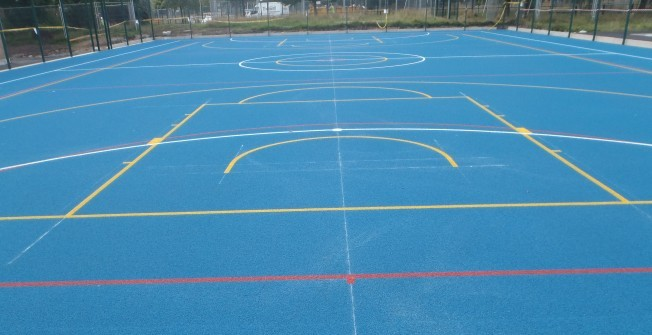 EPDM Sports Surface in Aberllefenni