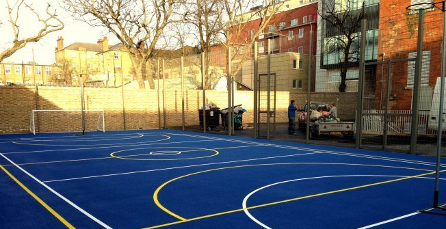 MUGA Pitch Contractors in Ambaston
