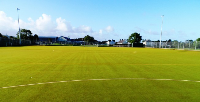 Synthetic Turf MUGA in Abergwesyn