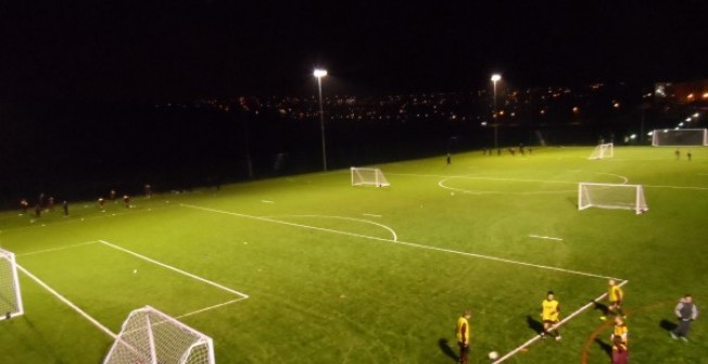 5G Synthetic Grass Pitch in Falkirk