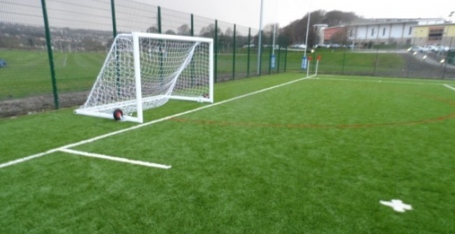4G All Weather MUGA in Courteachan
