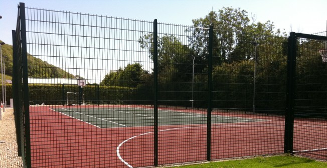 MUGA Court Fencing in East Renfrewshire