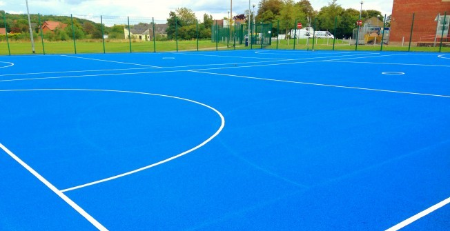 Tarmac MUGA Flooring in Aston