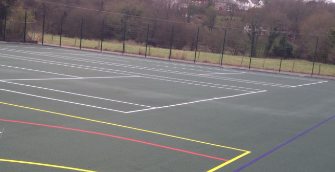 MUGA Court Specialists in Allensmore