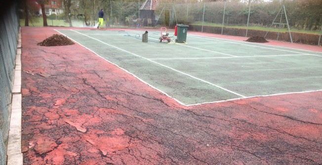 Sports Court Repairs in Llandegveth